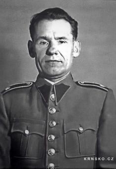 Velitel četnické stanice Mšeno, vrchní strážmistr Rudolf Schönbach