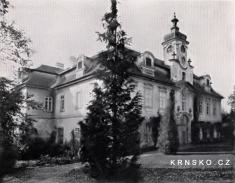 Zámek 1905- zdroj: depositum.cz