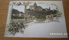 Pozdrav zKrnska aStránova - kus který neprošel poštou