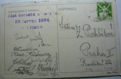 Sokolovna vKrnsku - Slet dorostu 1924(2. strana)