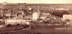 Krnsko cca 1880- výřez