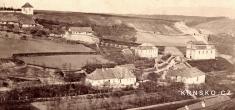 Krnsko, pravděpodobně cca 1865...Jednalo by setak onejstarší dochovanou fotografii Krnska.