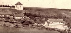 Krnsko cca 1865- výřez / pohled nazvonici
