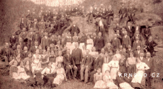 Obyvatelé obce vroce 1895... (cca 130lidí)