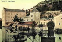 """""""F aJ Kuchta válcové mlýny vKrnsku"""" - postaveno v1864"""