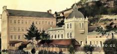 """""""F aJ Kuchta válcové mlýny vKrnsku"""" - postaveno v1864 - výřez"""