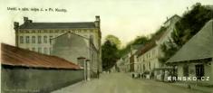 Dolní Krnsko 1903- výřez zpohlednice