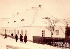 Stará škola vKrnsku - postavena 1801