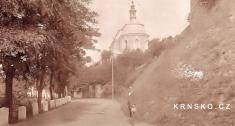 Továrník Kotek vevěku cca 35let - výřez zfotografie