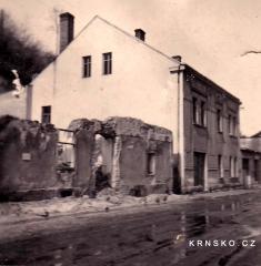 Vybombardovaný dům